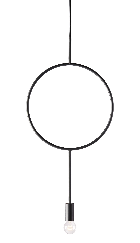 Illuminazione - Lampadari - Sospensione Circle - / Metallo di Northern  - Antracite - Acier laqué époxy