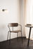 Pavilion AV2 Stackable armchair - / Lacquered wood by &tradition