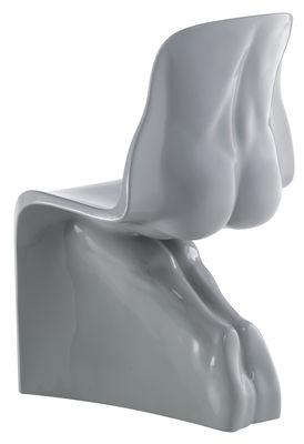 Möbel - Stühle  - Him Stuhl lackiert - Casamania - Grau - Polyäthylen