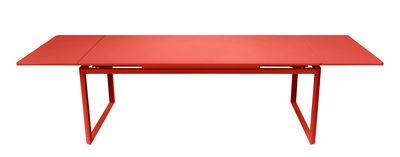 Table à rallonge Biarritz / L 200 à 300 cm - Fermob capucine en métal