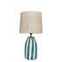 Palmaria Small Table lamp - / H 48 cm - Ceramic & raffia by Maison Sarah Lavoine