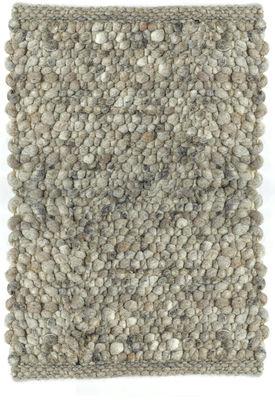 carpet pebbles teppich 200 x 240 cm 200 x 240 cm hellgrau by pols potten made in design. Black Bedroom Furniture Sets. Home Design Ideas