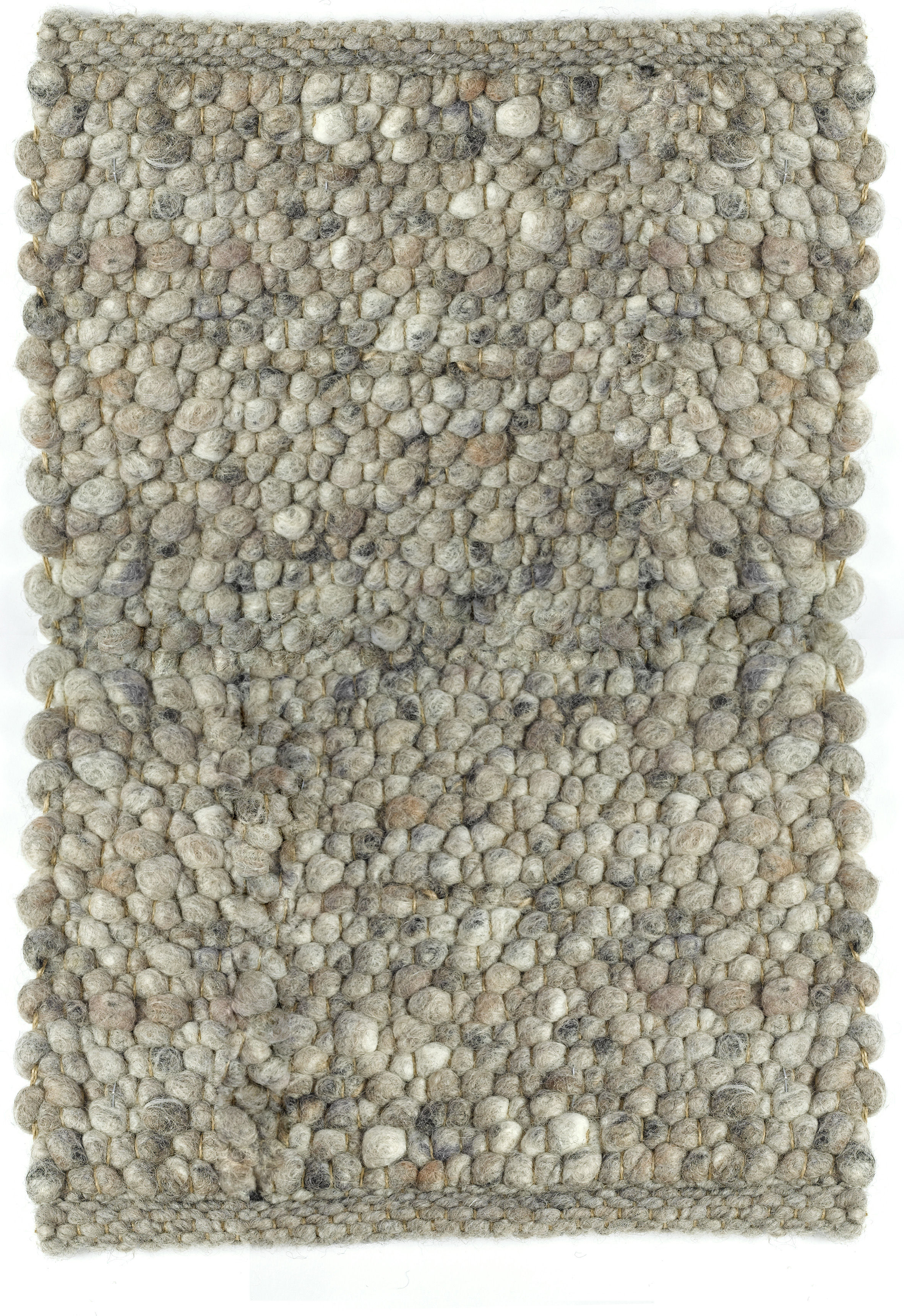 carpet pebbles teppich 200 x 240 cm 200 x 240 cm hellgrau by pols potten made in design. Black Bedroom Furniture Sets. Home Design Ideas