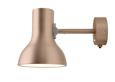 Applique Type 75 Mini / Metallic - Anglepoise cuivre/métal en métal