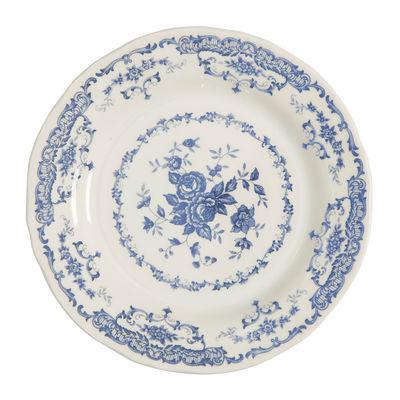 Arts de la table - Assiettes - Assiette plate Rose / Ø 26 cm - Bitossi Home - Bleu - Céramique Ironstone