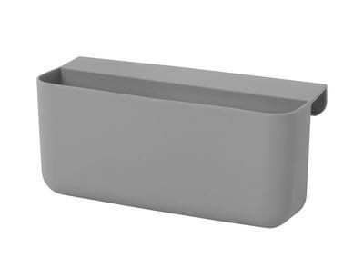 Bac Little Architect Large / Silicone - Ferm Living gris en matière plastique