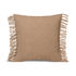 Kelim Fringe Cushion - / 50 x 50 cm - Handwoven by Ferm Living