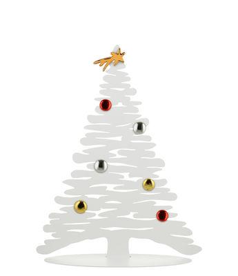 Décoration Bark Tree / Sapin en édition limitée - H 30 cm - Alessi blanc en métal