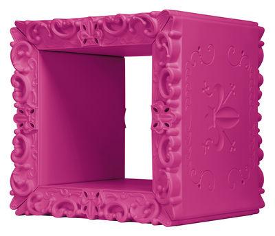 Etagère Jocker of Love /Cube modulaire - 52 x 46 cm - Design of Love by Slide rose en matière plastique