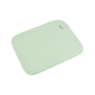 Galette de chaise Color Mix / Pour chaise Bistro - 38 x 30 cm - Fermob vert en tissu
