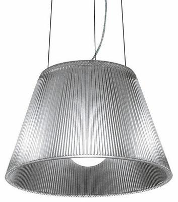 Lighting - Pendant Lighting - Roméo Moon S1 Pendant by Flos - Transparent - Glass