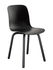 Substance Indoor Stacking chair - / Plastic & metal feet by Magis