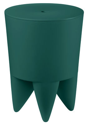 Furniture - Stools - New Bubu 1er Stool - / Box - Plastic by XO - Peacock blue - Polypropylene