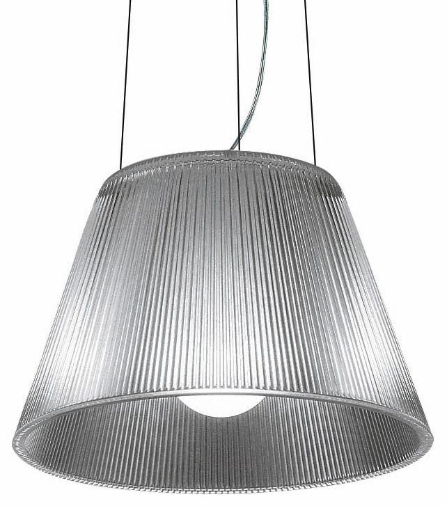 Luminaire - Suspensions - Suspension Roméo Moon S1 - Flos - diam 34 cm - Verre