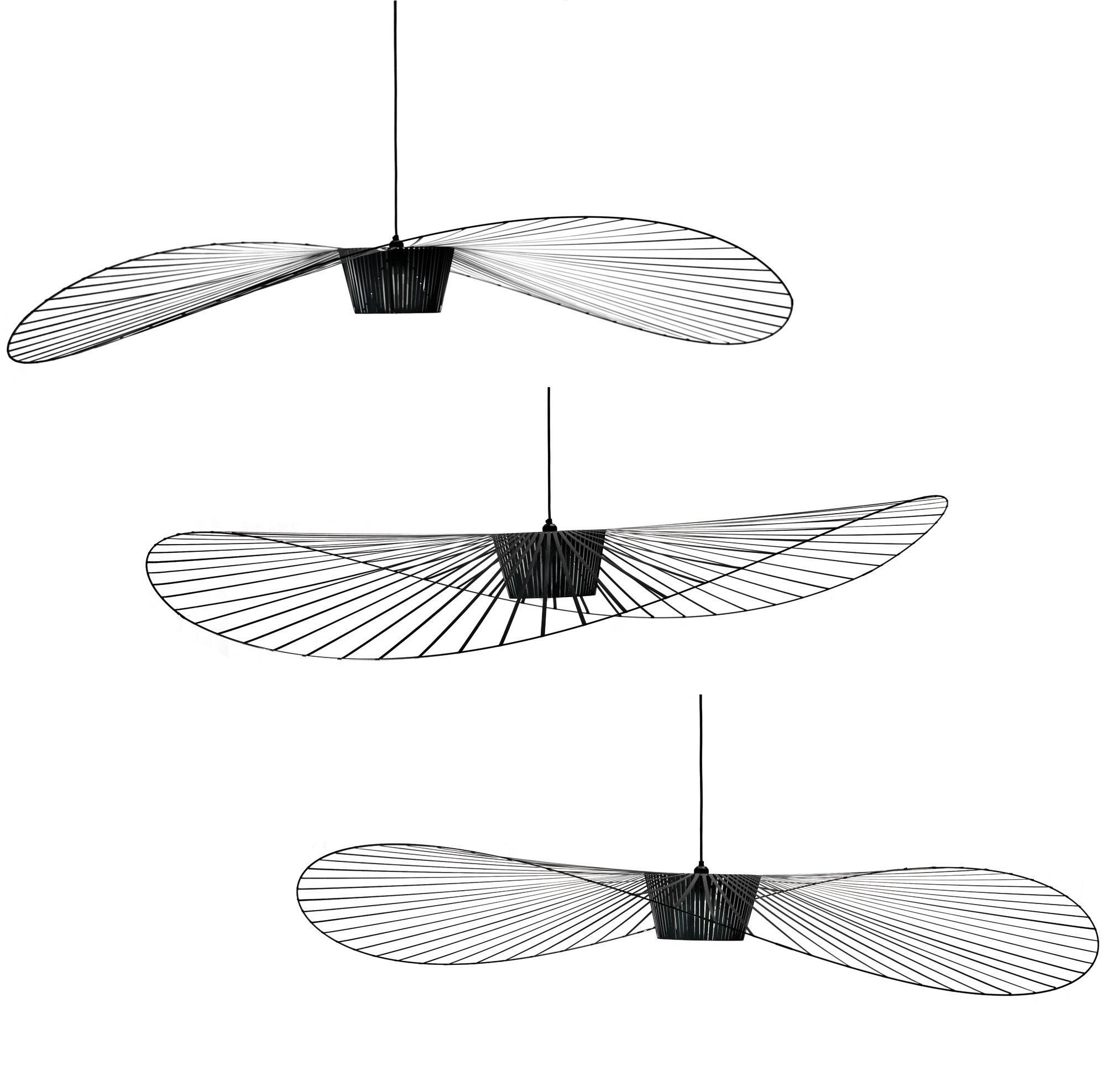 suspension vertigo large 200 cm noir petite friture made in design. Black Bedroom Furniture Sets. Home Design Ideas