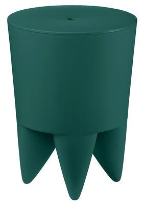 Mobilier - Tabourets bas - Tabouret New Bubu 1er / Coffre - Plastique - XO - Bleu canard - Polypropylène