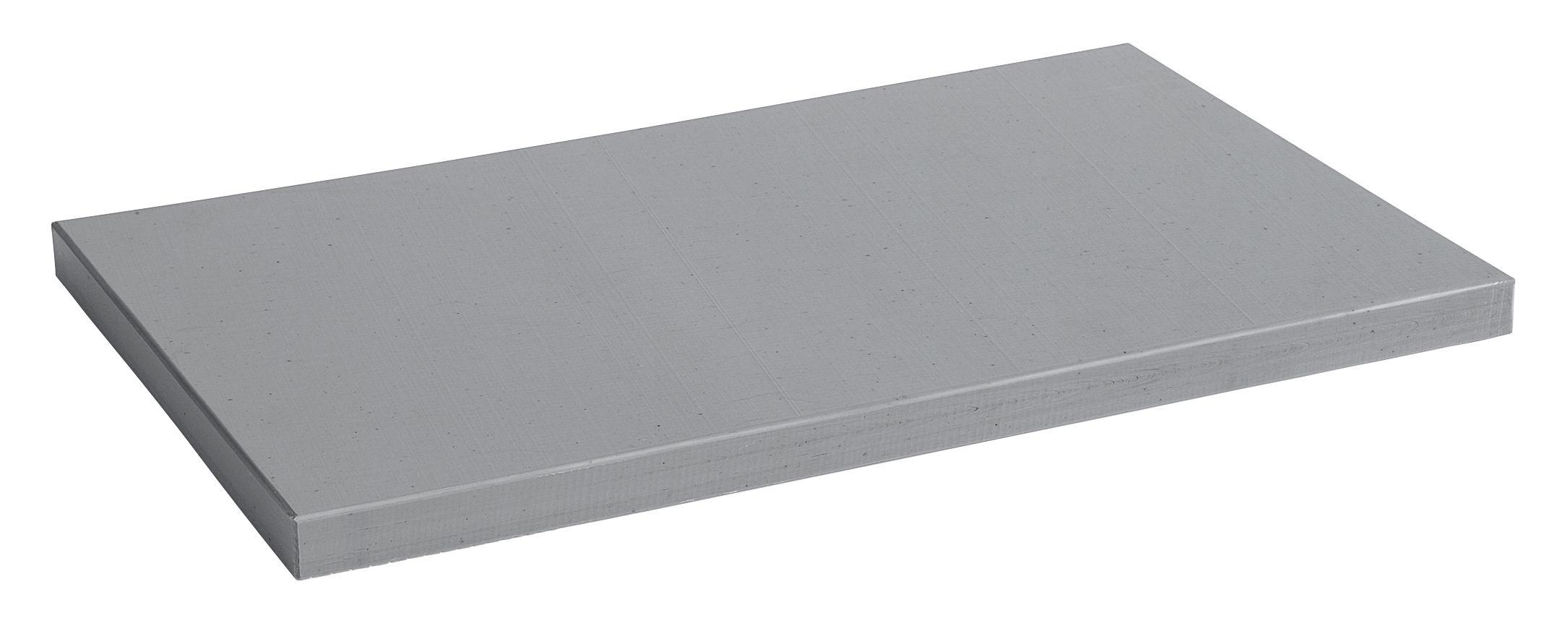 Cucina - Utensili da cucina - Tagliere XL - / 50 x 30 cm - Polietilene di Hay - Grigio - Polietilene
