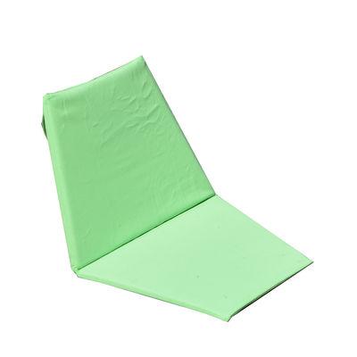 Chaise pliant Sego Tapis de sol Cacoon vert en tissu