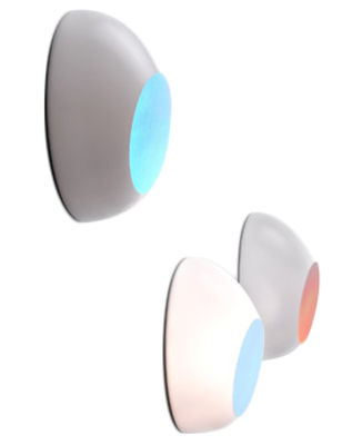 Image of Applique Goggle di Luceplan - Bianco/Multicolore - Materiale plastico