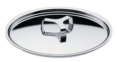 Couvercle Pots and Pans / Ø 28 cm - A di Alessi métal en métal