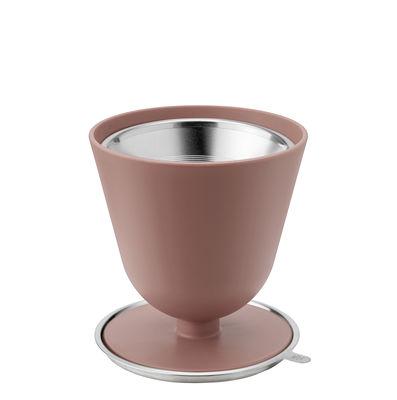 Arts de la table - Thé et café - Filtre à café Slow - Stelton - Terracotta - Acier inoxydable, Plastique