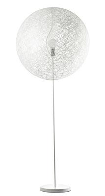 Lighting - Floor lamps - Random Light LED Floor lamp - LED - Medium Ø 80 cm by Moooi - White - H 205 x Ø 80 cm - Fibreglass, Steel