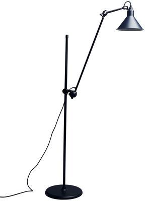 Lampadaire N°215L / H 142 à 230 cm - Lampe Gras - DCW éditions bleu en métal