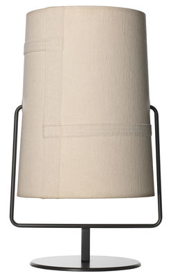 Lampe de table Fork Maxi / H 44 cm - Diesel with Foscarini marron,ivoire en métal