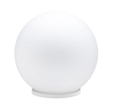 Luminaire - Lampes de table - Lampe de table Sfera Ø 9 cm - Fabbian - Blanc - Ø 9 cm - Verre