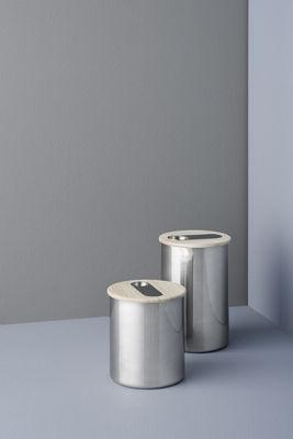 scoop f r kaffee mit integriertem l ffel stelton luftdichte dose. Black Bedroom Furniture Sets. Home Design Ideas