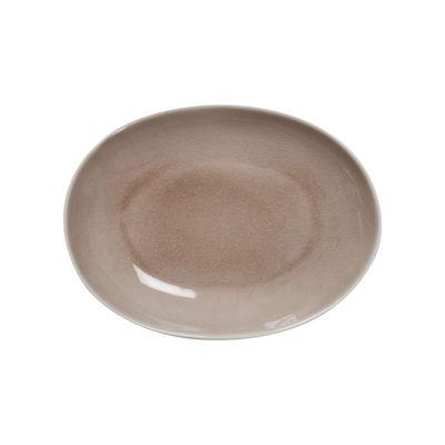 Arts de la table - Plats - Plat Maguelone / 28 x 21,5 cm - Grès fait main - Jars Céramistes - Tamaris - Grès émaillé