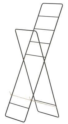 Porte-serviettes Herman / Etendage à linge - Pliant - Ferm Living noir en métal
