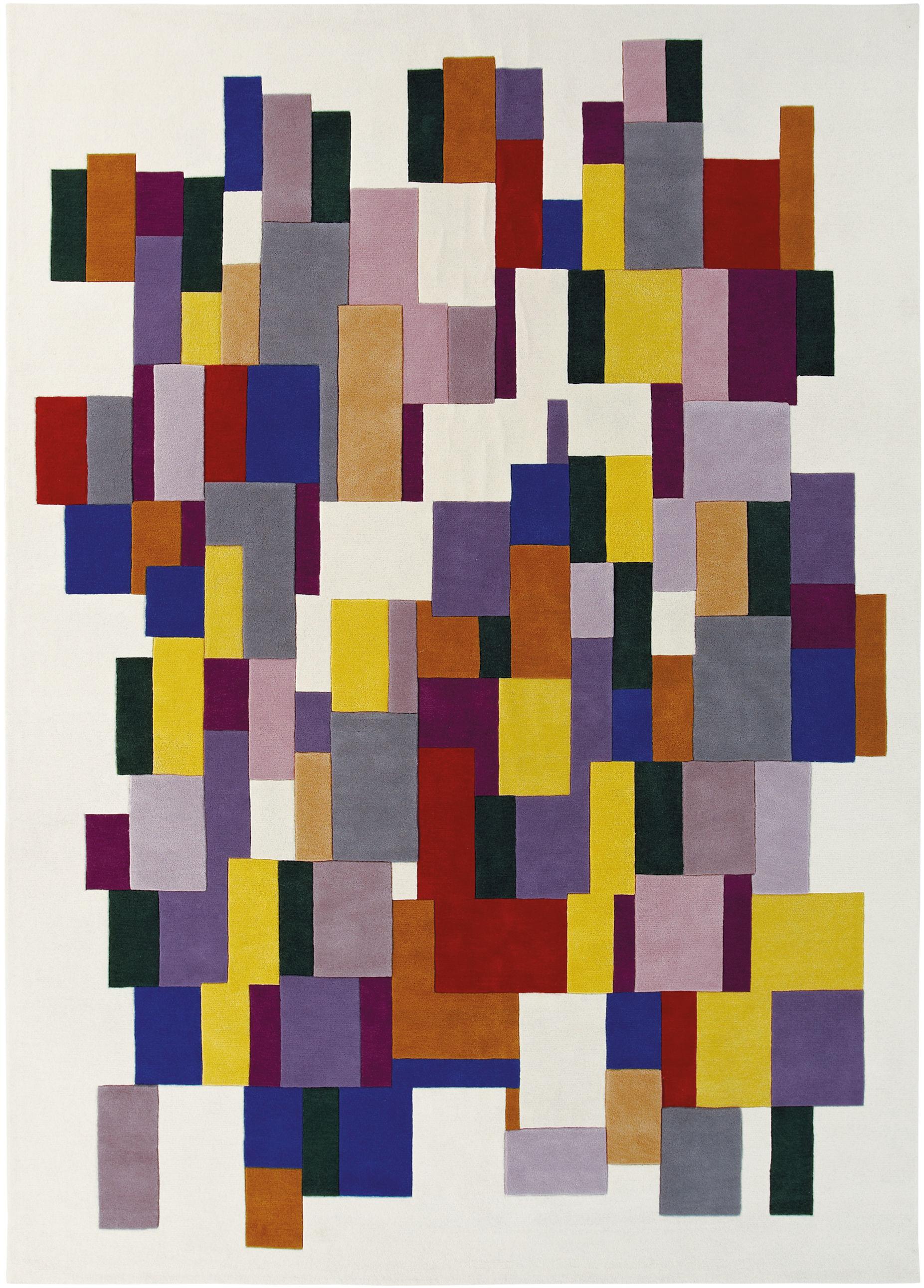 Furniture - Carpets - Icare Rug by Toulemonde Bochart - Multicolor - Wool