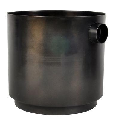 Seau à champagne Rondo / Large - 2 bouteilles - XL Boom noir en métal