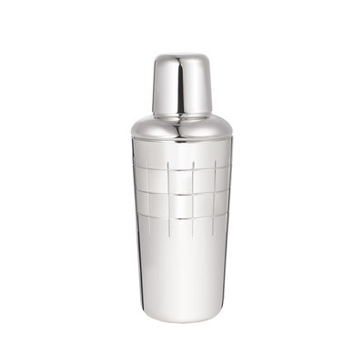 Tableware - Wine Accessories - Graphik Shaker by Christofle - Silver - Silvery metal