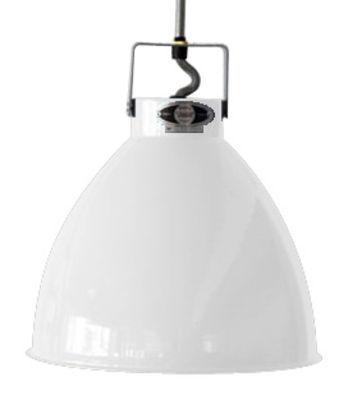 Suspension Augustin XL Ø 54 cm - Jieldé blanc brillant en métal