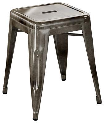 Tabouret de bar H / H 45 cm - Acier brut - Pour l'intérieur - Tolix acier foncé janvier 1 en métal