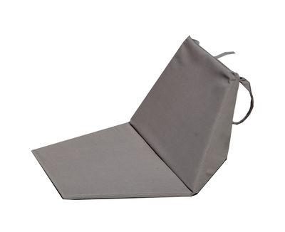 Chaise pliant Sego Tapis de sol Cacoon taupe en tissu
