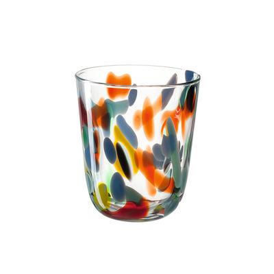 Arts de la table - Verres  - Verre Portofino / 230 ml - Leonardo - Multicolore - Verre soufflé bouche