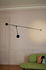 Aaro LED Wall light - / L 155 cm - Mobile arm by DCW éditions
