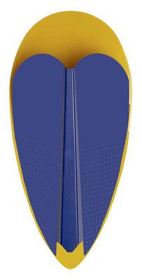 Sorcier Wandleuchte / Metall - H 46,5 cm - La Chance - Blau,Gold