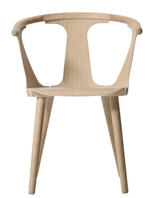 Furniture - Chairs - In Between Armchair - Oak by &tradition - White oak - Oiled bleached oak