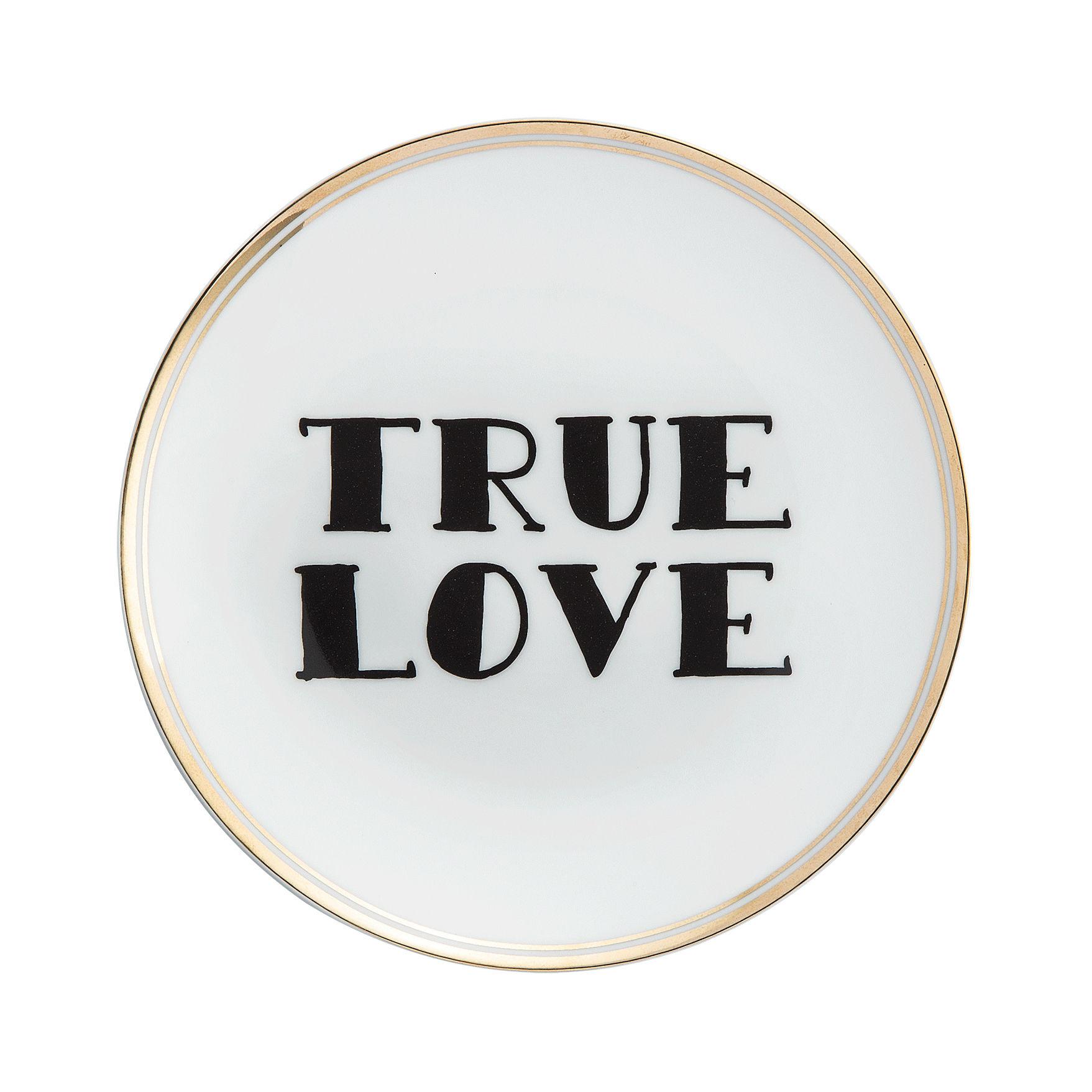 Arts de la table - Assiettes - Assiette à dessert True love / Ø 17 cm - Bitossi Home - True love - Porcelaine