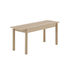Linear WOOD Bench - / Wood - L 110 cm by Muuto