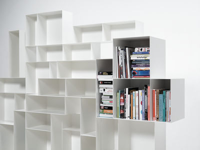 Möbel   Regale Und Bücherregale   Alma Large Bücherregal L 260 Cm X H 180  Cm ...
