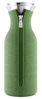 Carafe Stoppe goutte 1 L Tissu technique Eva Solo vert botanique en métal