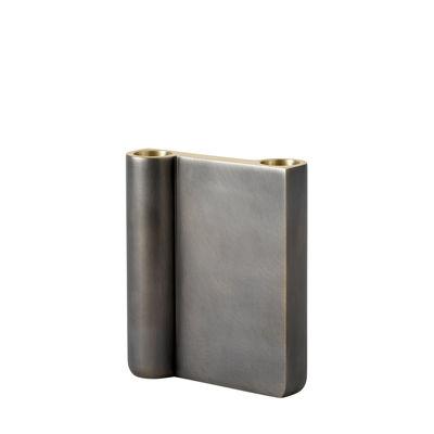 Déco - Bougeoirs, photophores - Chandelier SC40 / H 13 cm - Fonte de laiton - &tradition - H 13 cm / Bronze patiné - Fonte de laiton