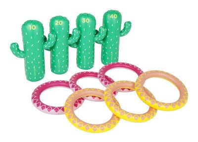 Déco - Pour les enfants - Jeu d'adresse Cactus Set / Gonflable & flottant - Sunnylife - Cactus - PVC non toxique
