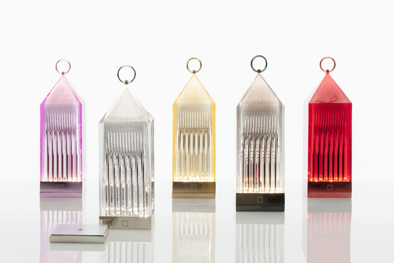 Lampe Sans Fil Lantern Led Cristal Kartell