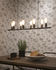Miami Pendant - / 8 adjustable sockets - L 105 cm by It's about Romi